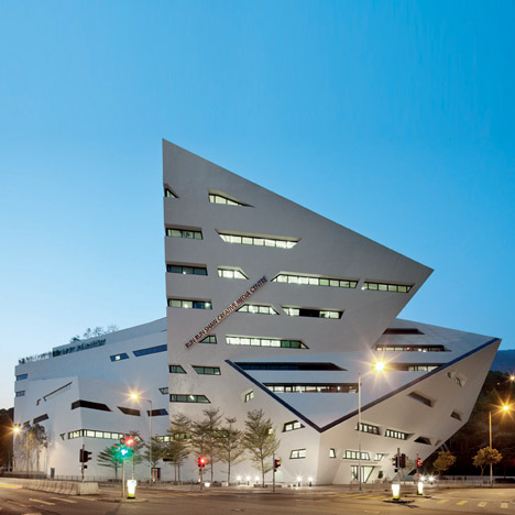 The Run Run Shaw Creative Media Centre by Daniel L