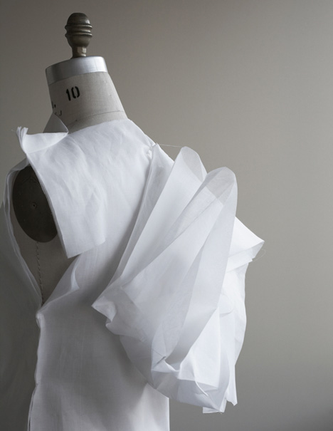 Walking City dresses by Ying Gao