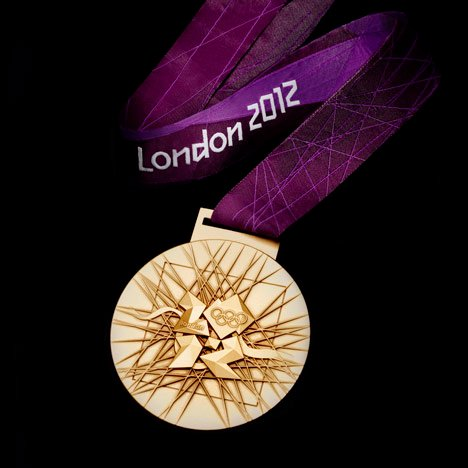 London 2012 Olympic Medals - David Watkins