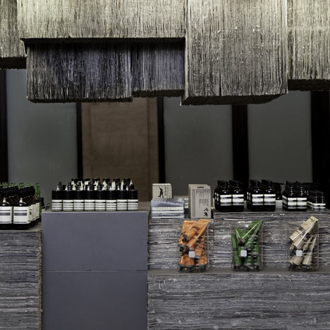 Aesop Grand Central Kiosk, New York by Tacklebox