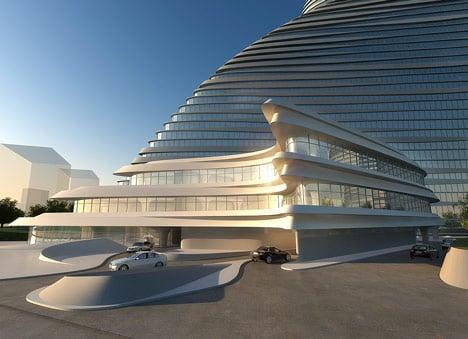 Wangjing Soho by Zaha Hadid Architects