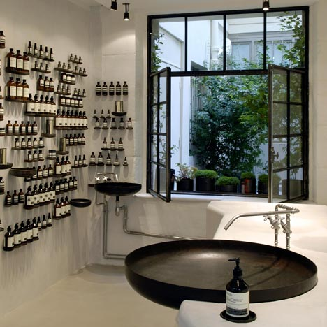 Aesop Le Marais, Paris, by Ciguë