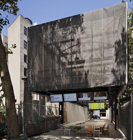 Bmw Guggenheim Lab By Atelier Bow Wow Dezeen