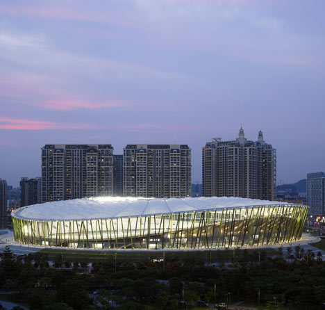 Bao'an Stadium by von Gerkan, Marg and Partners