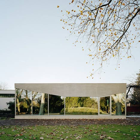 Cafe Pavilion by Architekten Martenson und Nagel Theissen