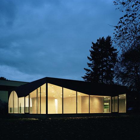 Cafe Pavilion Düren by Architekten Martenson und Nagel Theissen
