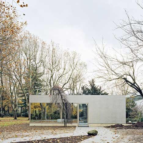 Cafe Pavilion by Architekten Martenson und Nagel Theissen