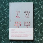 Competition: five copies of China Granite Project II by Max Lamb to be won