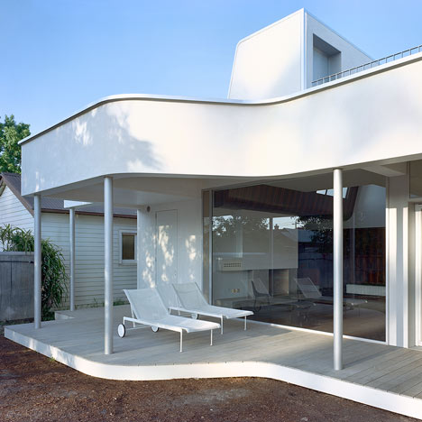 Clifton Hill House by Sharif Abraham Architects