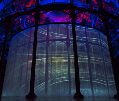 Curtain Call by Ron Arad at the Roundhouse