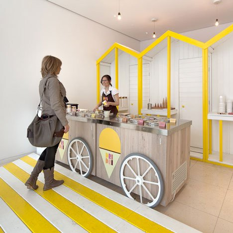 Ice Cream Design Dezeen