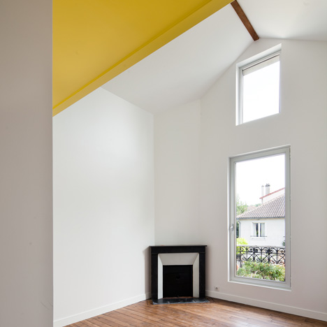 Extension to a house in Chaville by Cut Architectures