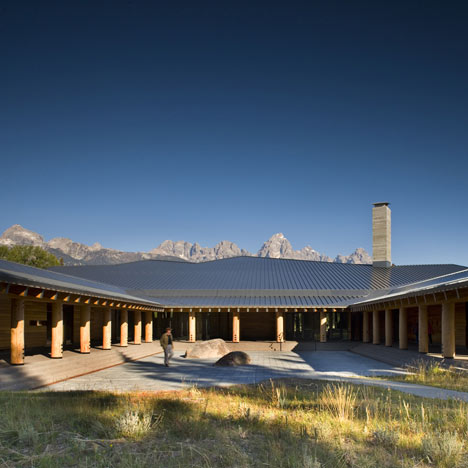 Grand Teton Discovery and Visitor Center by Bohlin Cywinski Jackson