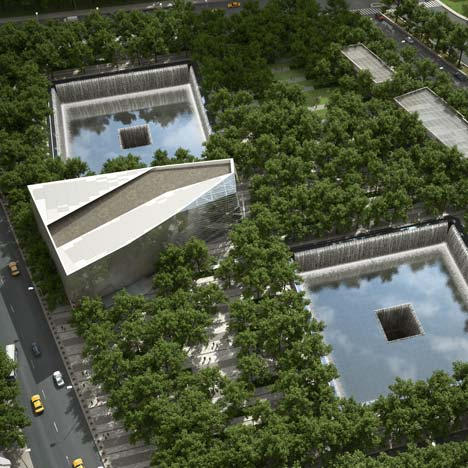 9/11 memorial by Michael Arad and Peter Walker