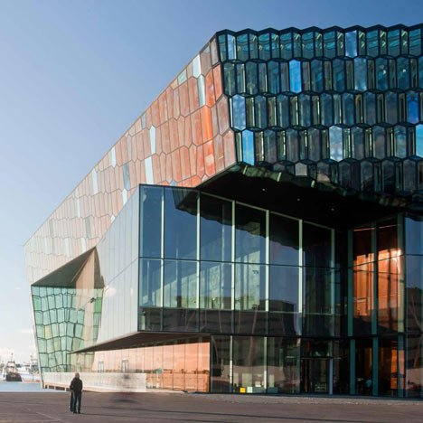 Harpa Concert and Conference Centre in Reykjavík by Henning Larsen Architects