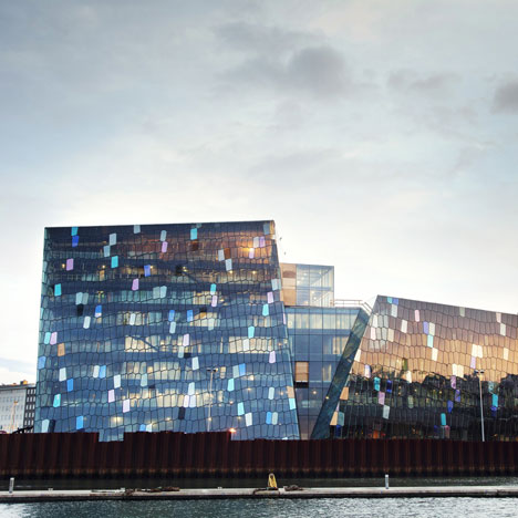 Harpa Concert and Conference Centre Reykjavík by Henning Larsen Architects