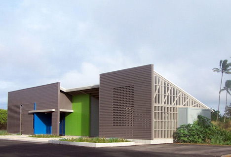 Hawaii Wildlife Centre by Ruhl Walker Architects