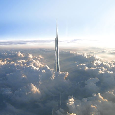 The Kingdom Tower by Adrian Smith + Gordon Gill Architecture