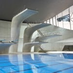 London Aquatics Centre 2012 by Zaha Hadid photographed by Hufton + Crow
