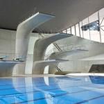 London Aquatics Centre 2012 by Zaha Hadid photographed by Hufton + Crow