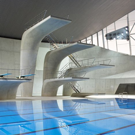 London Aquatics Centre by Zaha Hadid Architects