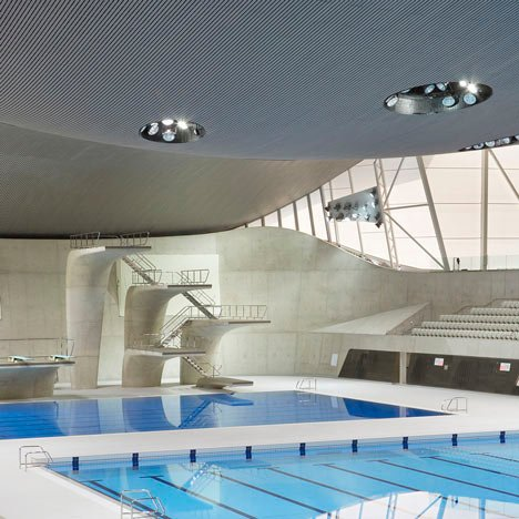 London Aquatics Centre 2012 by Zaha Hadid
