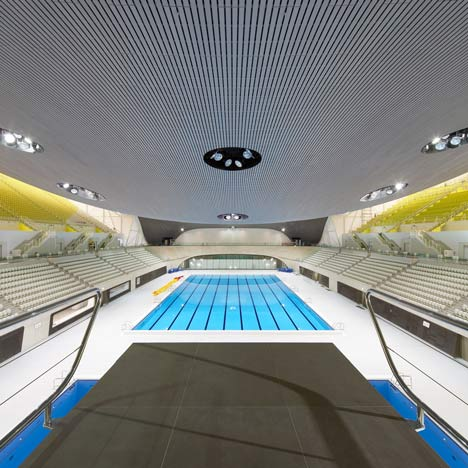 london aquatics centre 2012 by zaha hadid - Olympic Swimming Pool 2012