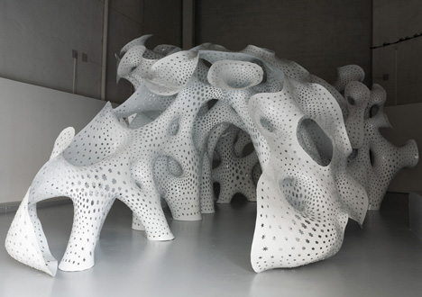 NonLin/Lin Pavilion by Marc Fornes/THEVERYMANY