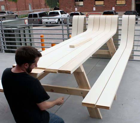 Picnic Table by Michael Beitz