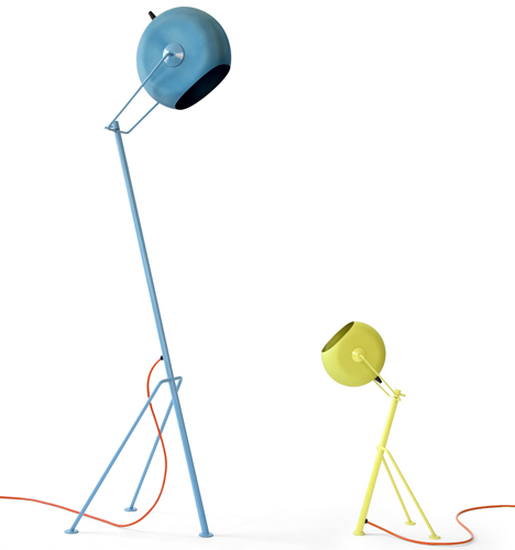 Pillhead lamps by A+Z Design
