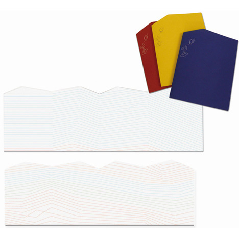 Rigolo notebooks by Denis Guidone