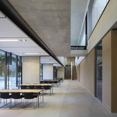 Sainsbury Laboratory by Stanton Williams