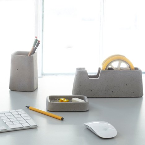 Solid desk accessories by Magnus Pettersen