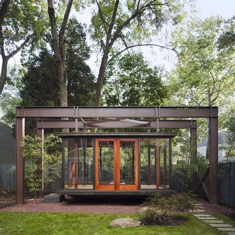 Tea House by David Jameson