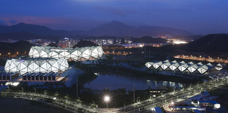 Universiade 2011 Sports Centre by GMP Architekten