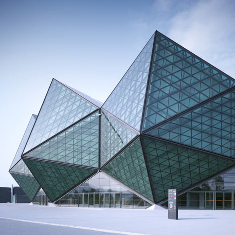 Universiade 2011 Sports Centre by GMP Architekten