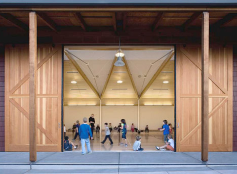 Yountville Community Centre by Siegel and Strain Architects