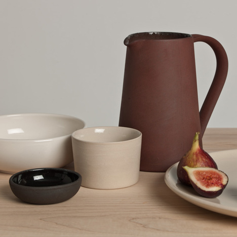 Pottery by Ian McIntyre for Another Country
