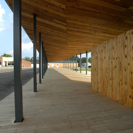 Covington Farmers Market by design/buildLAB at VA Tech School of Architecture + Design