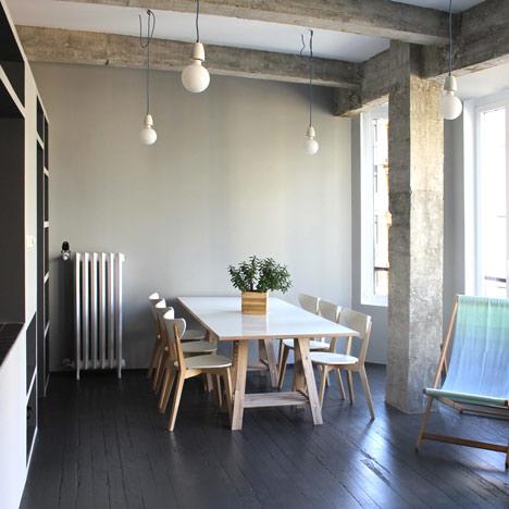 Apartment in San Sebastian by Pauzarq