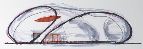 Ark Nova by Anish Kapoor and Arata Isozaki