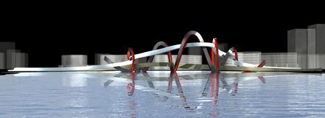 China Bridge by Denton Corker Marshall