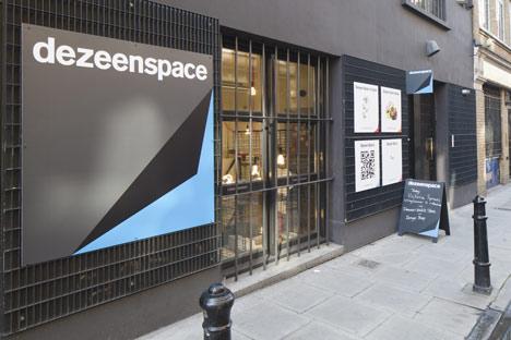 Dezeen Space at 54 Rivington Street