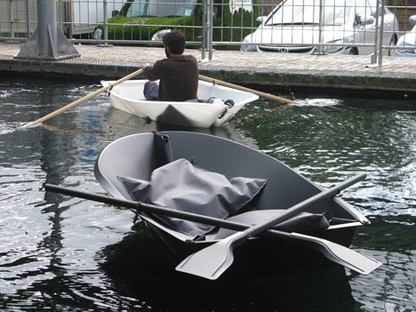 Foldboat by Max Frommeld and Arno Mathies