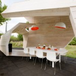 Gazebo for TV show by Za Bor Architects