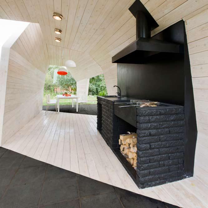 Gazebo For Tv Show By Za Bor Architects Dezeen