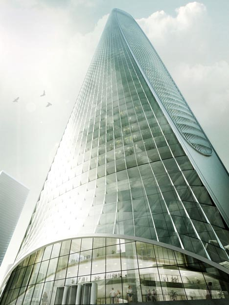 Haikou Tower by Henn Architekten