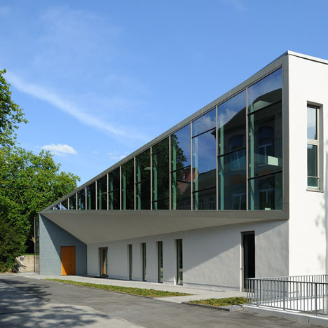 Hamborn Abbey Extension by Astoc