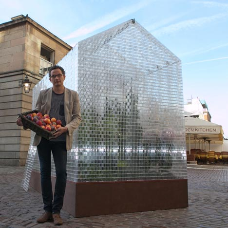 Lego Greenhouse by Sebastian Bergne