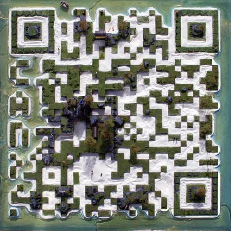 QR code island by C.A.N
